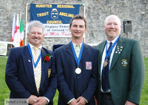 European Killarney 2009 Medalists