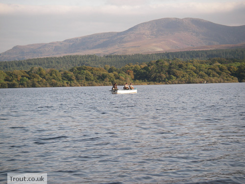 Fishing on Lough Leane